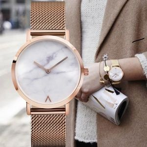 Jewelry - Marble Face Watch Rose Gold Band ✨✨CS✨✨